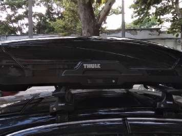 Аренда автомобильного бокса Thule 350 литров