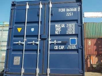 Аренда контейнера 20 футов в Москве