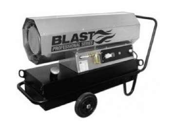 Аренда дизельной тепловой пушки Blast HSW 100 T (100 кВт) Германия
