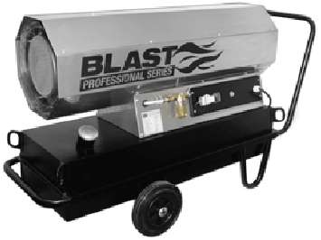 Аренда тепловой пушки прямого нагрева Blast HSW 50 T (50 кВт) Германия