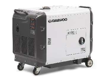 Аренда дизельного трёхфазного генератора DAEWOO DDAE 9000SSE-3 (2,7-6,4 кВт)
