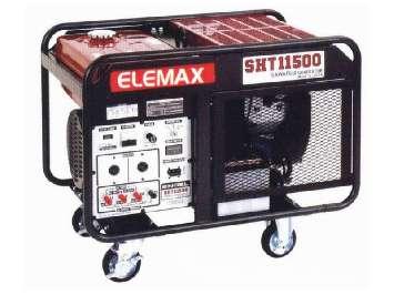 Аренда бензинового генератора Elemax SHT 11500 (7.5 кВт) Япония