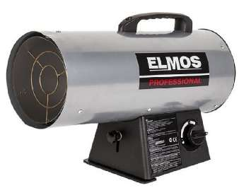 Аренда тепловой газовой пушки ELMOS GH-49 (45 КВт) Китай