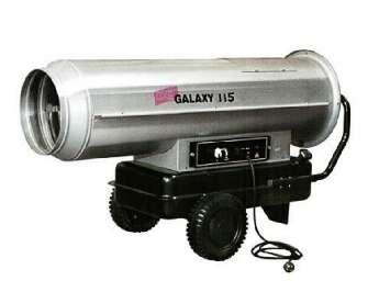 Аренда тепловой пушки прямого горения Galaxy 115 (115 кВт) Германия