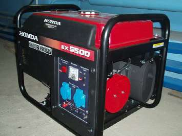 Аренда бензинового генератора Honda EX 5500 (2,2 кВт)
