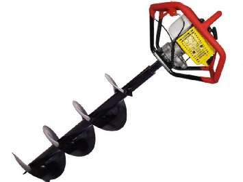 Аренда мотобура (бензобура) Iron Mole E73 Tandem