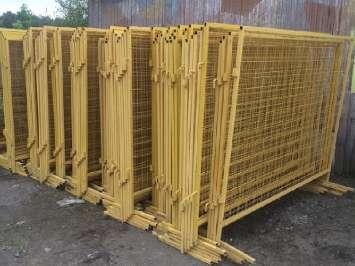 Аренда металлических строительных ограждений ИСО-2 (1.6 х 2 метра)