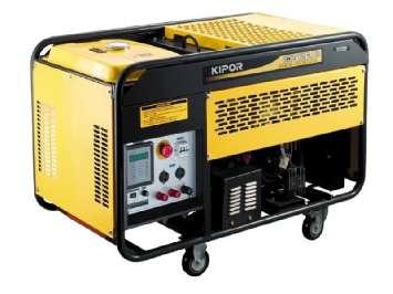 Аренда бензинового сварочного генератора Kipor KGE280EW (5.5 кВт)