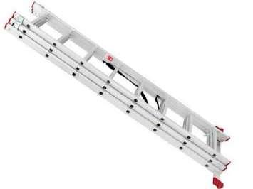 Аренда профессиональной выдвижной лестницы «Алюмет» 3х10