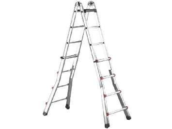 Аренда лестницы телескопической стремянки итальянской Svelt Scalissima R 12+12