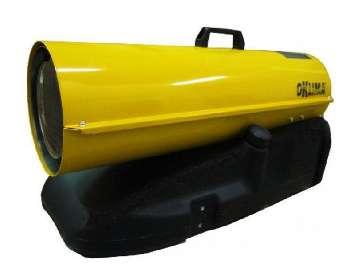 Аренда тепловой пушки прямого нагрева Oklima SD 170 (46 кВт) Италия