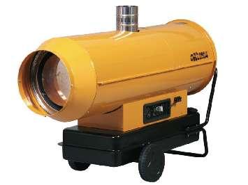 Аренда дизельной тепловой пушки непрямого нагрева Oklima SE 300 (85 кВт)