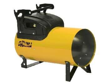 Аренда высокопроизводительного газового нагревателя прямого типа Oklima SG 260 C (32 - 66 кВт)