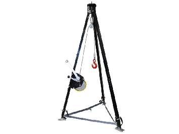 Аренда треноги телескопической с лебедкой