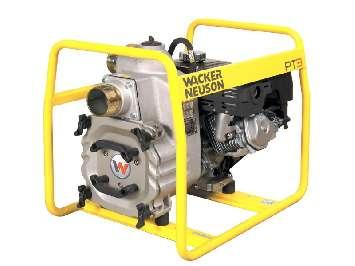 Аренда мотопомпы бензиновой для грязной воды Wacker Neuson PT 3
