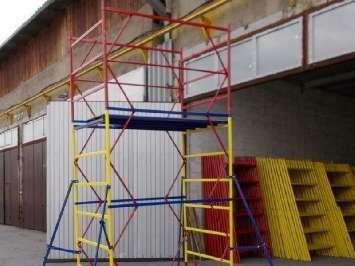 Аренда вышки туры марки ВСР 1 площадка 0,7 x 1,6 метра высота 3,9 метра 98 кг