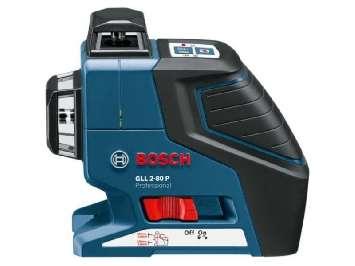 Аренда линейного лазерного нивелира (уровеня) Bosch GLL 2-80 P Professional