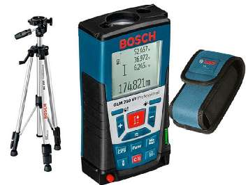 Аренда лазерного дальномера Bosch GLM 250 VF Professional