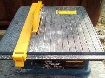 Аренда большого плиткореза Elmos ETC-150 (Элмос, длина стола 650 мм)