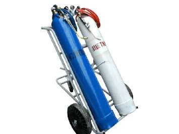 Аренда газосварочного поста ПГУ-40А тележка, баллоны 40л, кислород и ацетилен