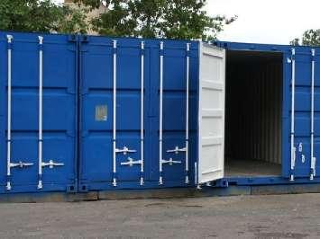 Аренда контейнера под склад - заказать 20-футовый или 40-футовый