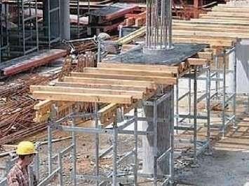 Аренда опорной башни для опалубки перекрытий