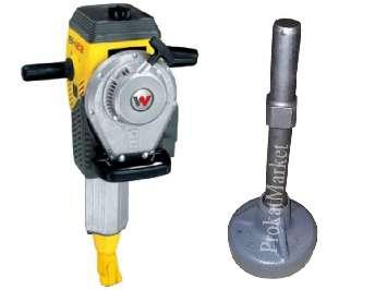 Аренда оправки Wacker Neuson для забивки свай и бензиновый отбойный молоток Wacker Neuson BH 23