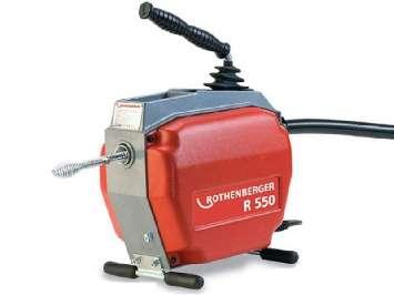 Аренда электромеханической прочистной машины Rothenberger R550 для чистки труб