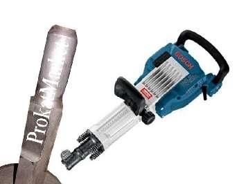 Аренда ударной чашки с ударным наконечником и отбойный молоток Bosch GSH 16-30