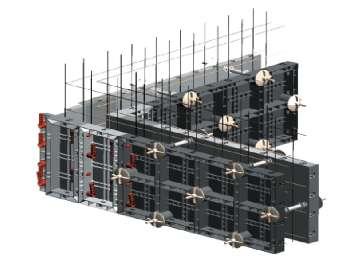 Аренда внутренних и внешних углов, замка-фиксатора, гайки полимерной для стеновой опалубки