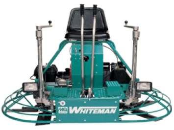 Аренда самоходной бетоноотделочной (затирочной) машины Whiteman JTN20HTCSL